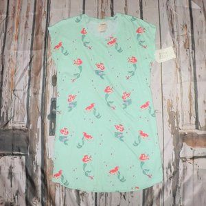 Disney Munki Munki Little Mermaid Nightgown Medium